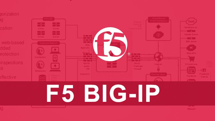 Vulnérabilité dans F5 BIG-IP
