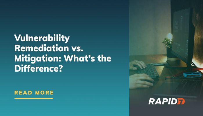 Correction de vulnérabilité vs. Atténuation: quelle est la différence?