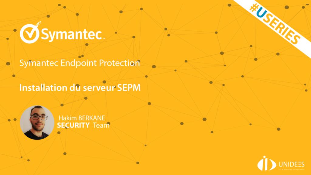 #USERIES sur #Symantec #SEPM