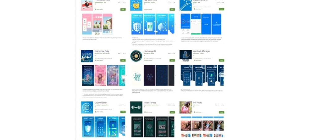 Des applications ont été retirées du Google Play Store car elles volaient des mots de passe Facebook