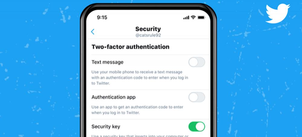 Twitter mise sur les clés de sécurité pour protéger les comptes